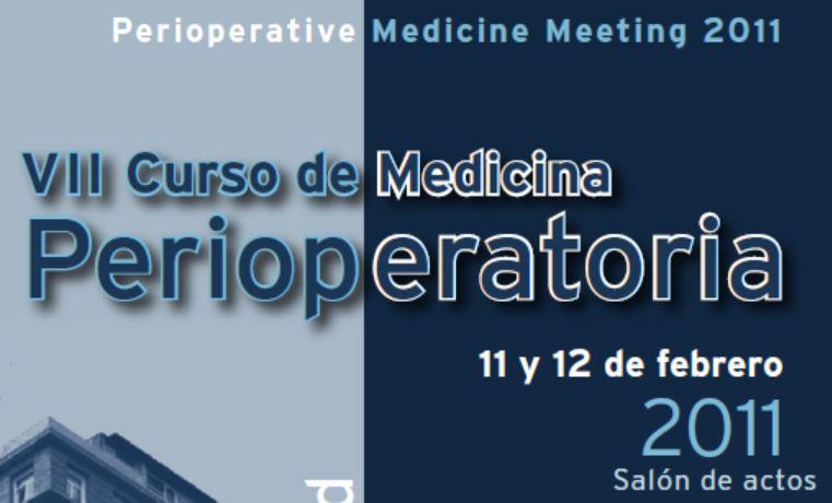 curso medicina perioperatoria 2011