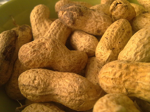 Cacahuetes-Receta