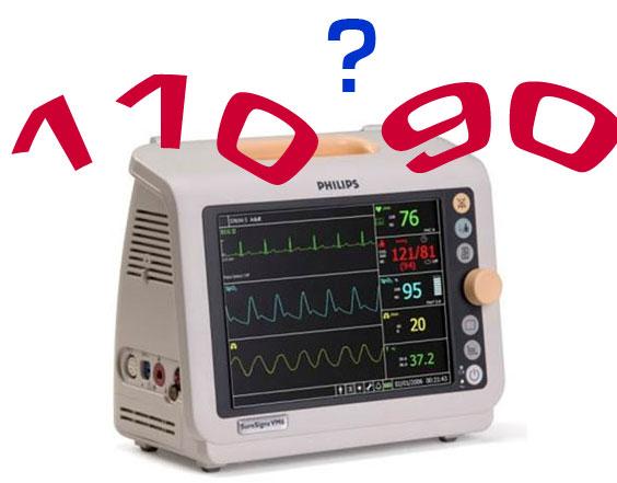 Tensión arterial 110
