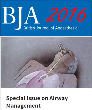 special issue BJA 2016