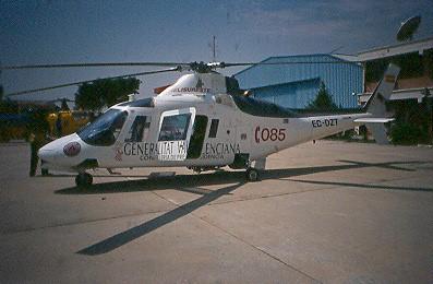 Ilustración 1. Helicóptero sanitario Comunidad valenciana (1).