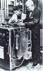 Figura 5: Máquina corazón pulmón de J.Gibbon