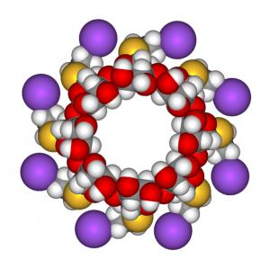 604px-Sugammadex_sodium_3D_front_view