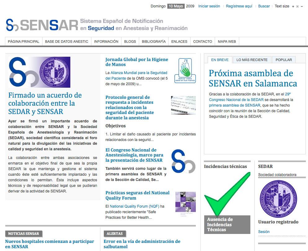 Descripción breve del Sistema Español de Notificación en Seguridad ...
