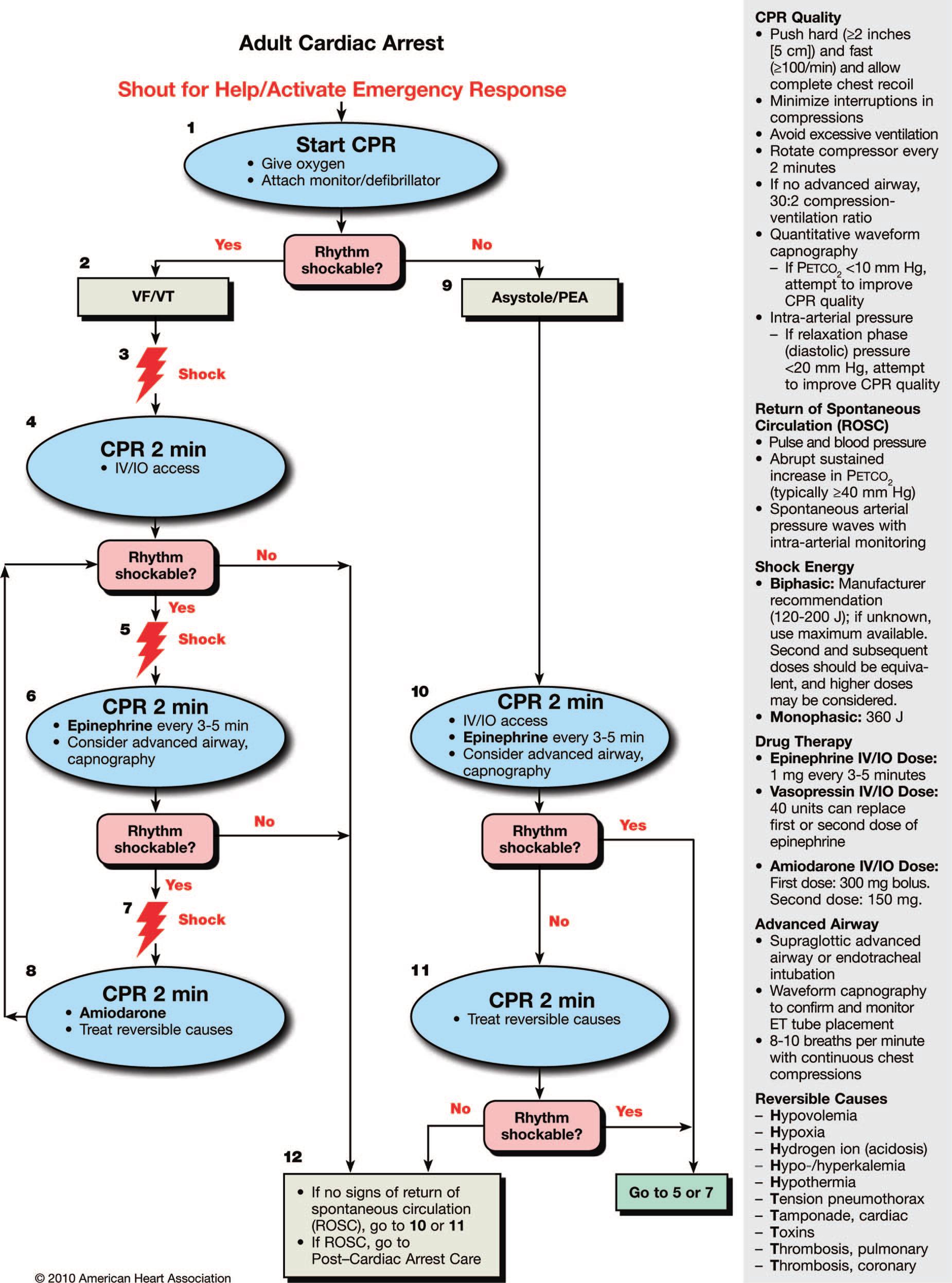 Soporte vital cardiovascular avanzado aha pdf