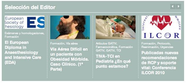 AnestesiaR: seleccion del editor