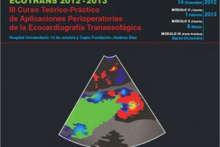 Curso EcoTransEsofágico ECOTRANS 2012-2013