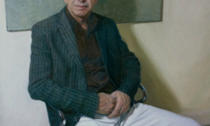 Portrait of Archie Brain, painted in 2011 by Mark Roscoe, for his lifelong contribution to clinical anaesthesia.