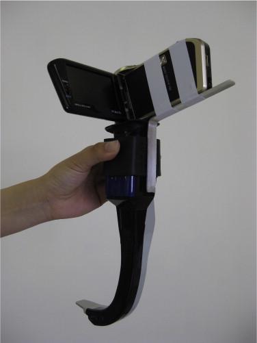 Figura 9.- Adaptador de cámara a Airtraq