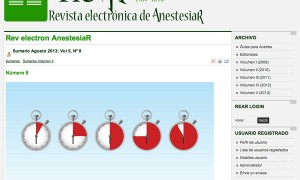 Revista electronica de AnestesiaR