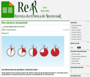 Revista electronica de AnestesiaR