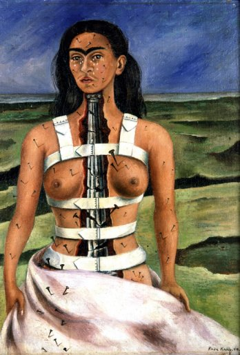 La columna rota. Frida Kahlo 1944
