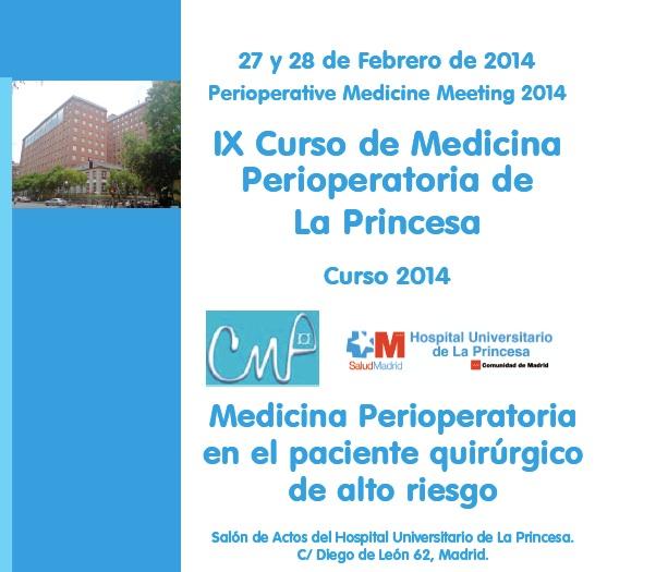 Curso Medicina Perioperatoria 2014