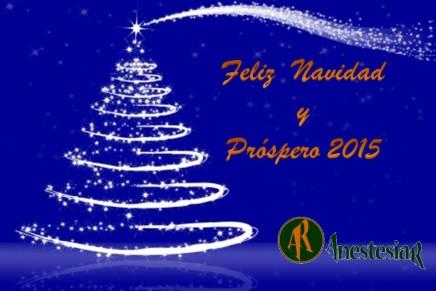 Feliz Navidad Y Próspero Año 2015