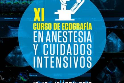XI CURSO DE ECOGRAFÍA EN ANESTESIA Y CUIDADOS INTENSIVOS