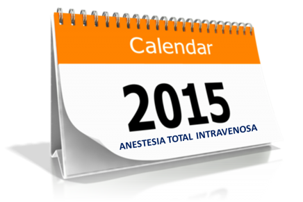 Agenda Anestesia Total Intravenosa 2015