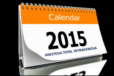 Agenda Anestesia Total Intravenosa 2015