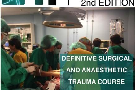 II curso Definitive Anesthesia Trauma Care . DATC
