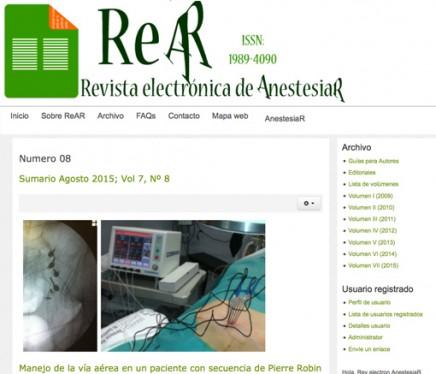 Publicado en abierto el número de agosto de la ReAR