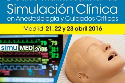 I Curso Multidisciplinar de simulación clínica en Anestesiología y Cuidados Críticos, SIMUMED 2016