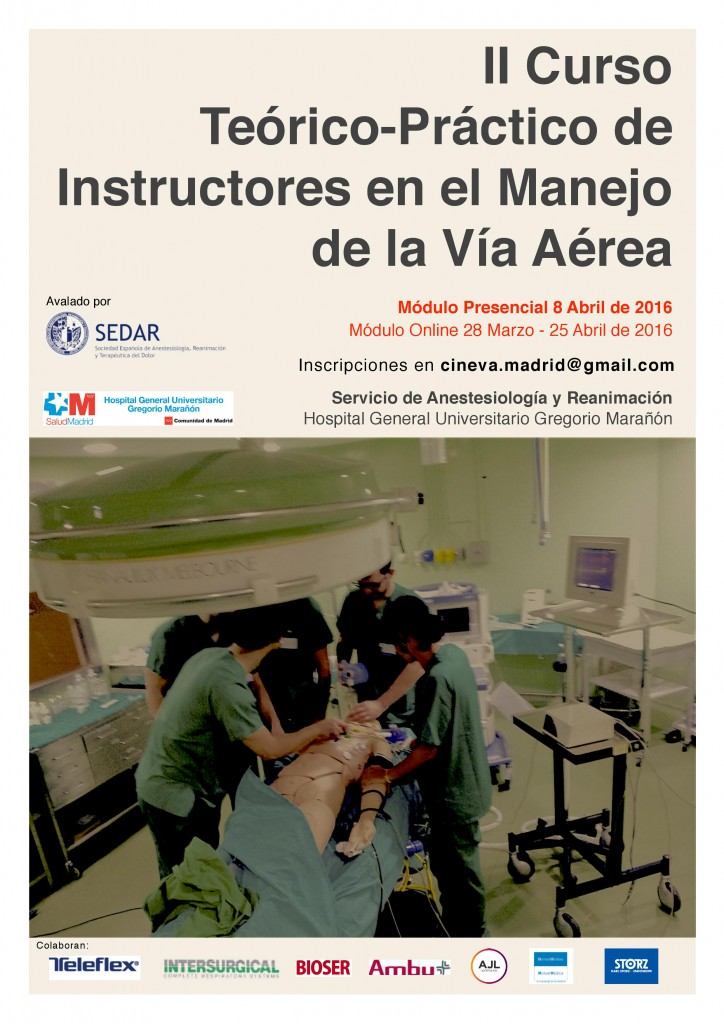Cartel Instructores 2016