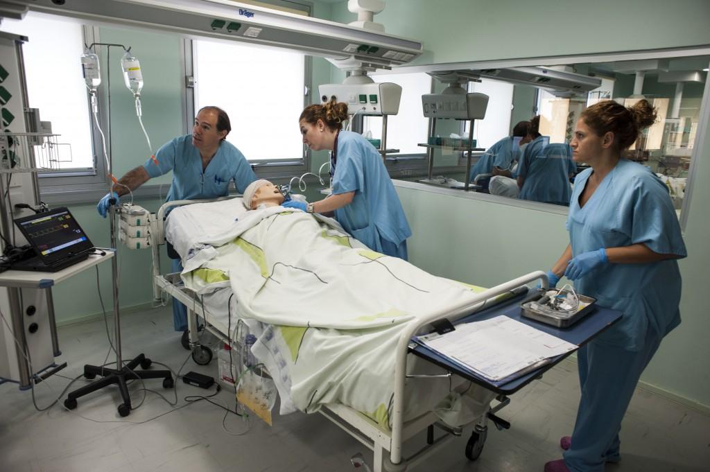Hospital Virtual Valdecilla, simulaciones,talleres, cursos,